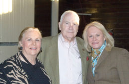 Mrs. Jacqueline Mars, Doug and Queenie Kemmere.