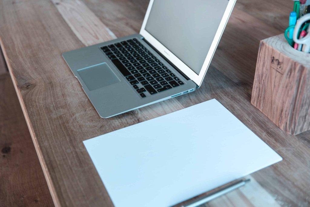Declutter your desk?