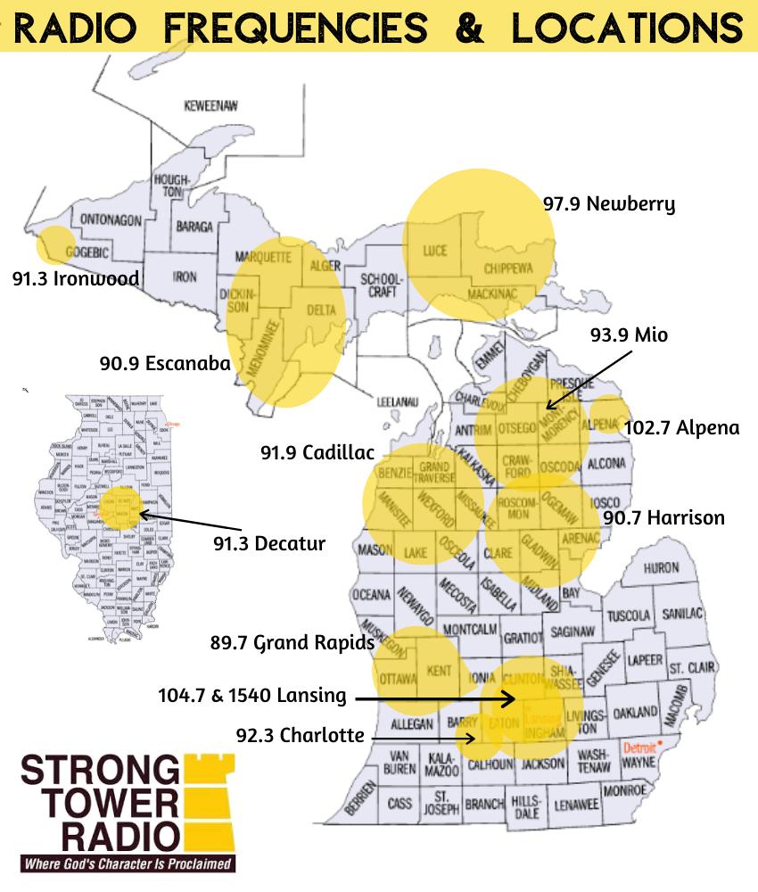 Radio Frequencies & Locations-FINAL