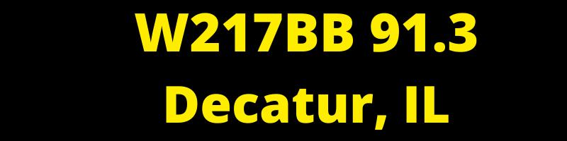 W217BB 91.3 Decatur, IL