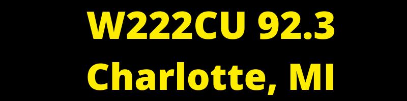 W222CU 92.3 Charlotte, MI