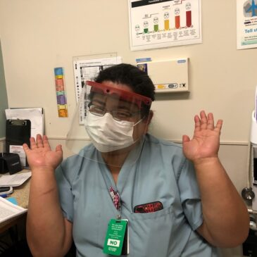 Providing Face Shields to San Diego Nurses