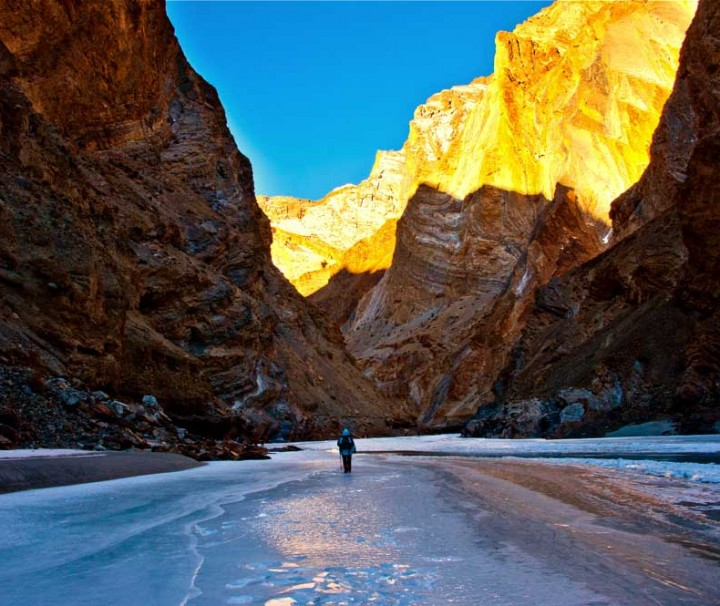 Chadar trek women adventure