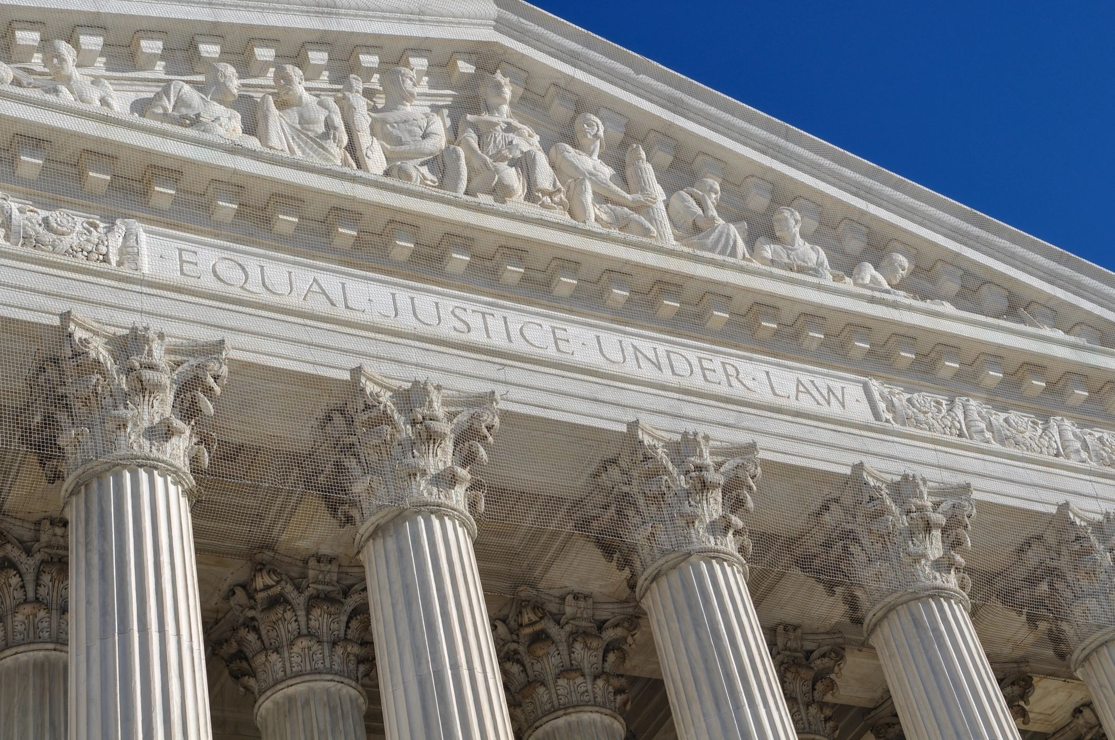 equal justice under the law - supreme court building