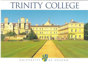 Colleges Trinity at Oxford