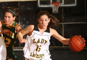 St. John Vianney vs Red Bank Catholic Girls basketball game January 2, 2010