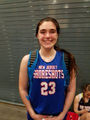 Allison Walters was big time all weekend