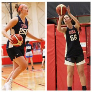 Anna Morris and Jamie Behar of the NJ FREEDOM both who attend the USA TRAILS will be at the SUMMER SHOWDOWN