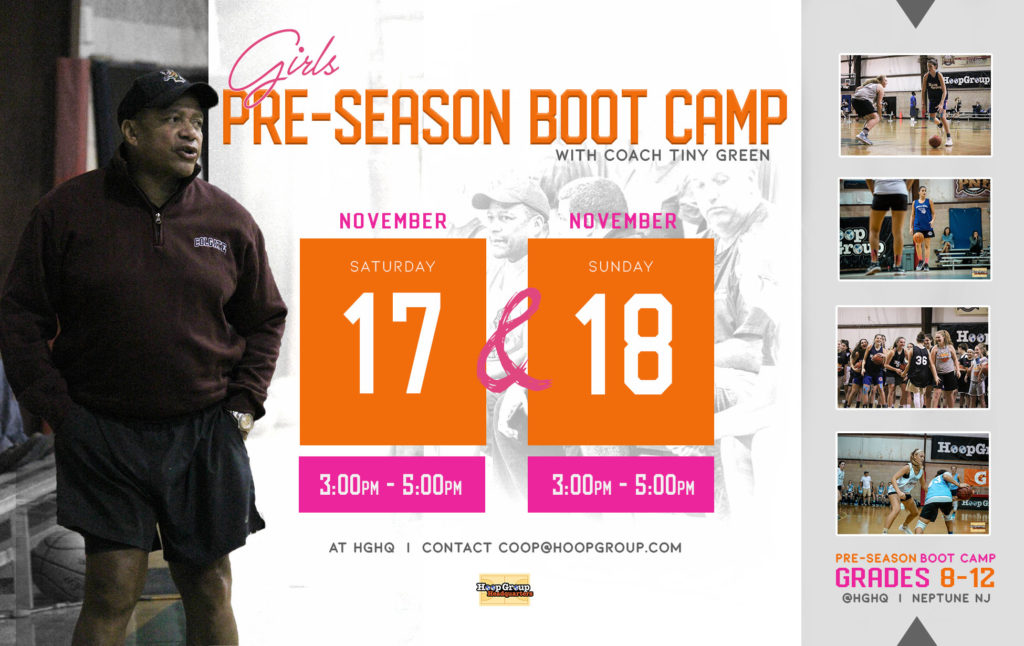 Tomorrow at Hoop Group the Annual Boot Camp