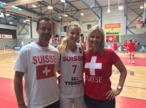 Fab will once again represent The Swiss National Team
