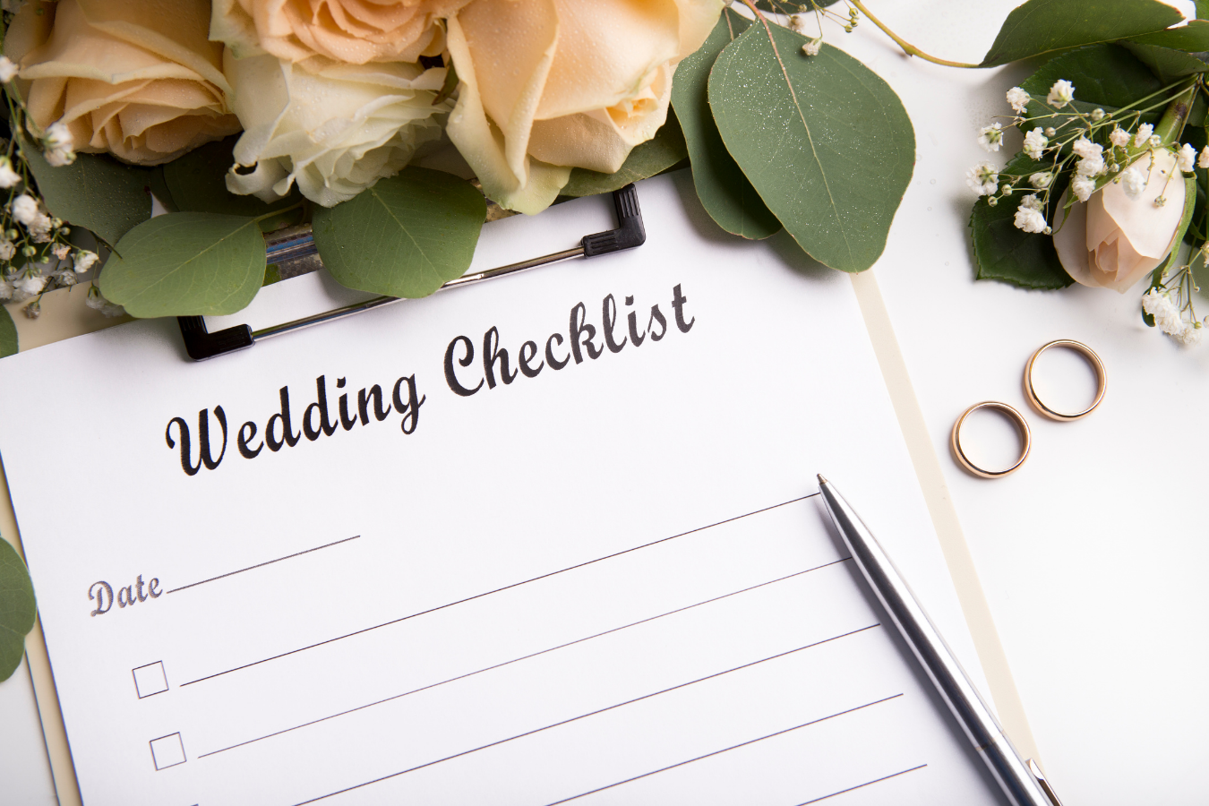 Wedding Checklist - Blog Post Featured image