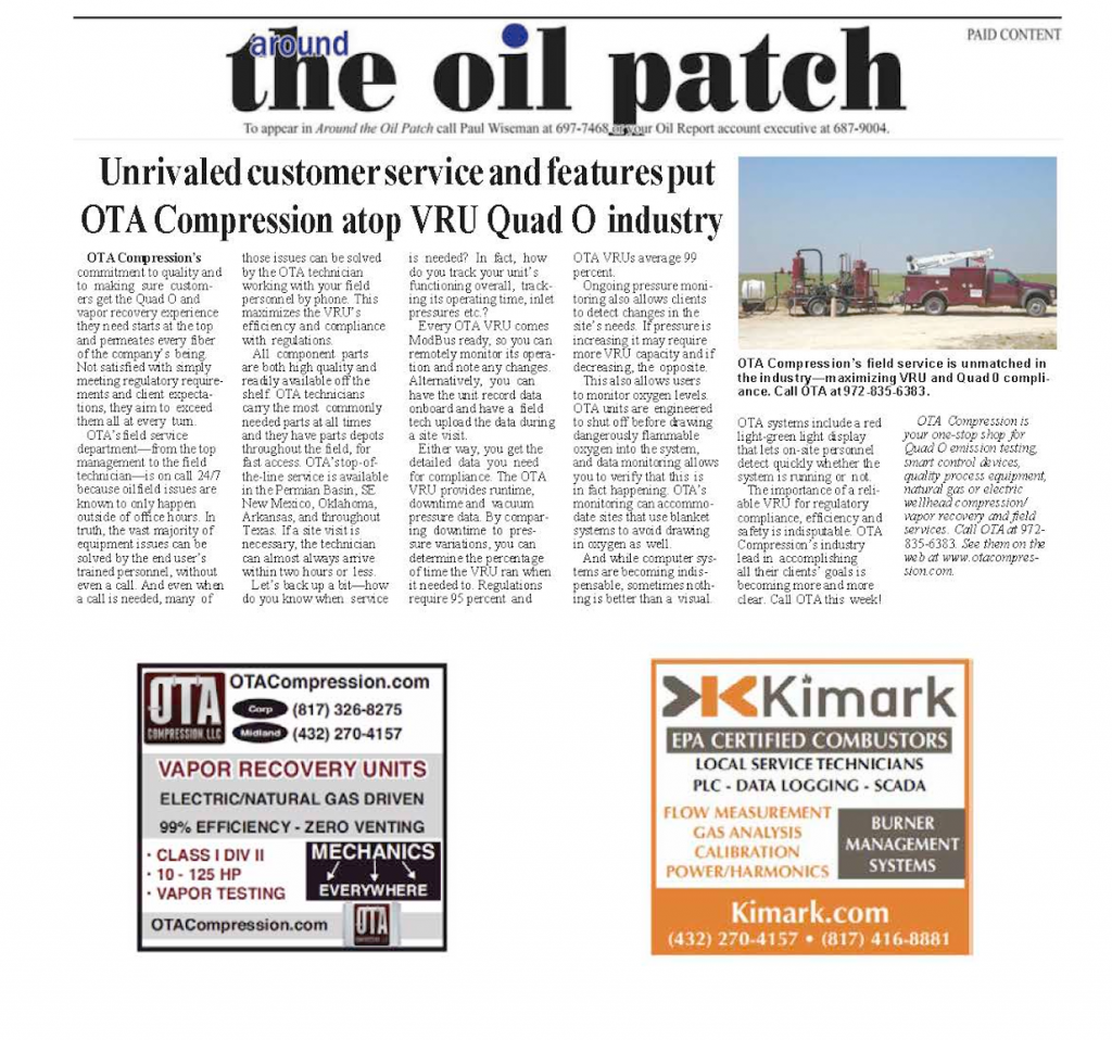 the oil patch 2