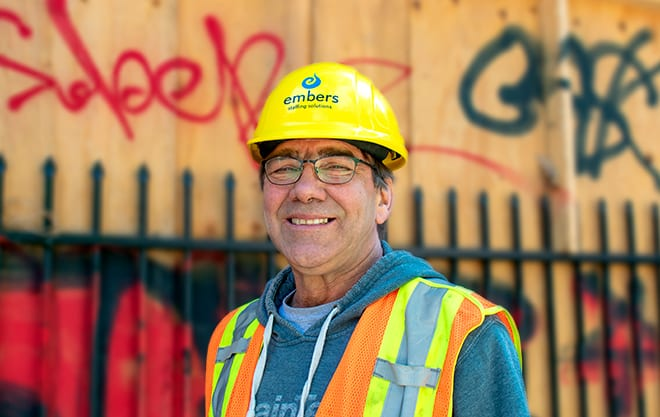 Worker Finds a Fit in Non-Profit Temporary Labour
