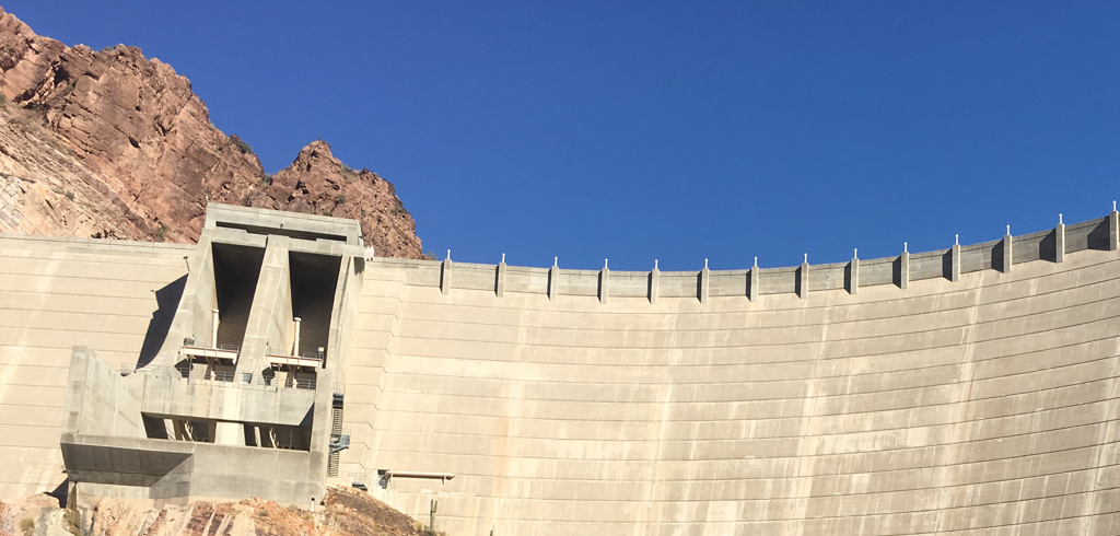 SRP Elections -Keep The Flow - Theodore Roosevelt Dam