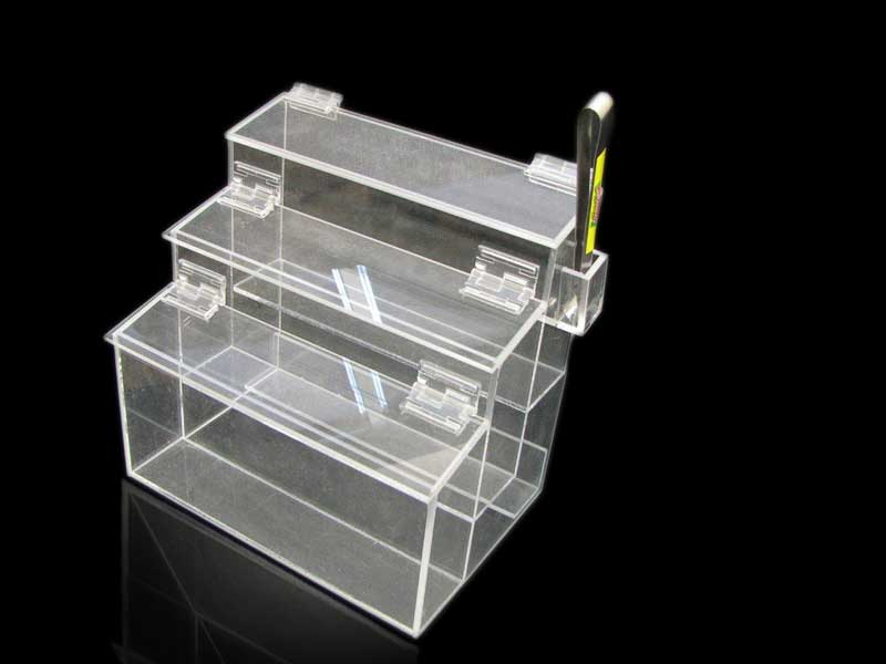 plastic retail food bin
