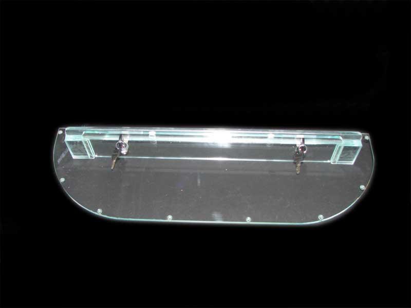 custom plastic lock box cover