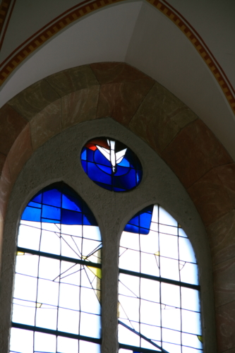 Berchtesgaden stained glass