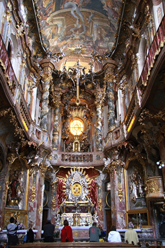 Asam Church Munich Germany