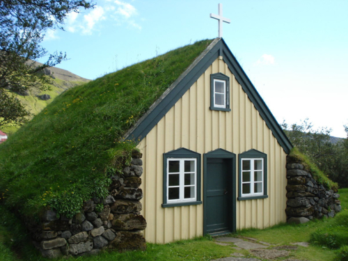 Iceland cottage front