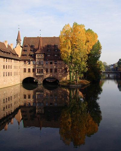 Hospital of the Holy Spirit Nuremburg Germany