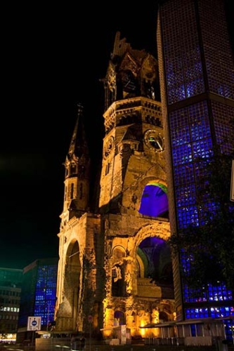 Kaiser Wilhelm Memorial Church Berlin Germany