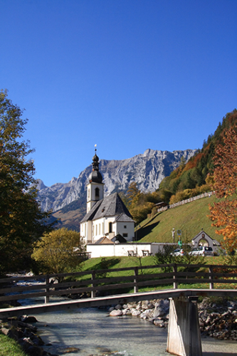 Saint Sebastian Ramsau Germany