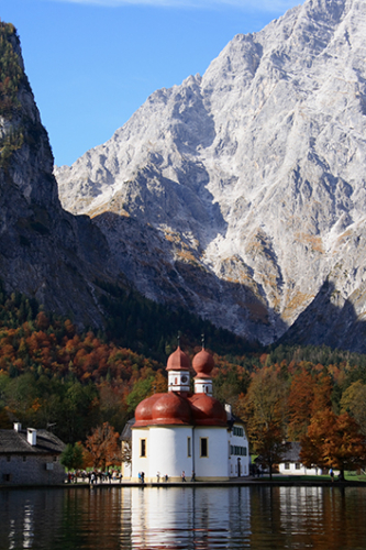 St Bartholomews Church Konigsee Germany