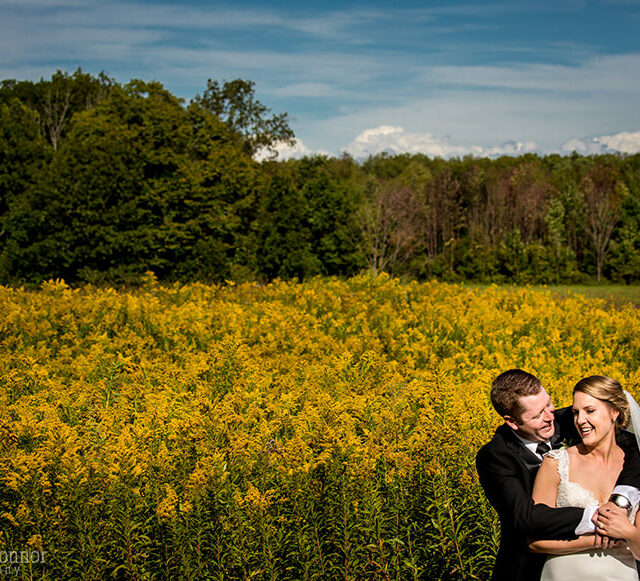 Lauren and Mark – Joyful and Bright Backyard Wedding Photos, Finger Lakes NY