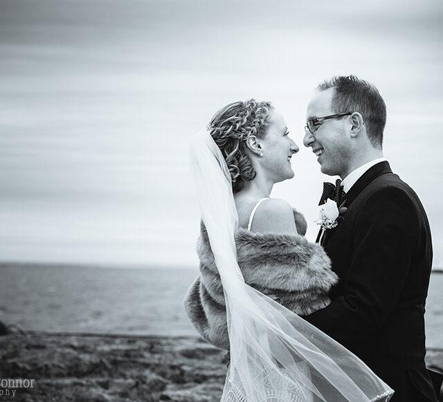 Kristen and Charlie – Winter Wedding Photos at Statler City, Buffalo NY
