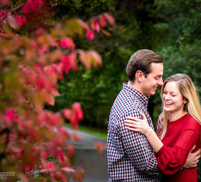 Kelsey and Madison – Highland Park Engagement Photography, Rochester NY