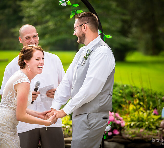 Laura and Wolf – Backyard Wedding Photography, Pendleton NY
