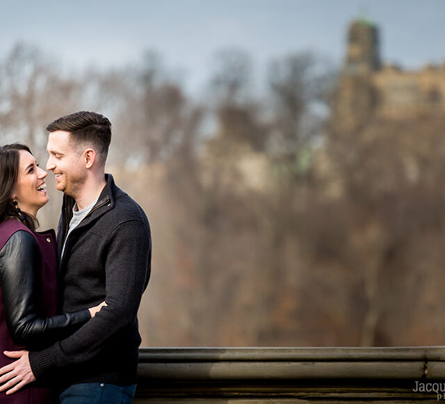 Stephanie and Chris – Central Park Engagement Session