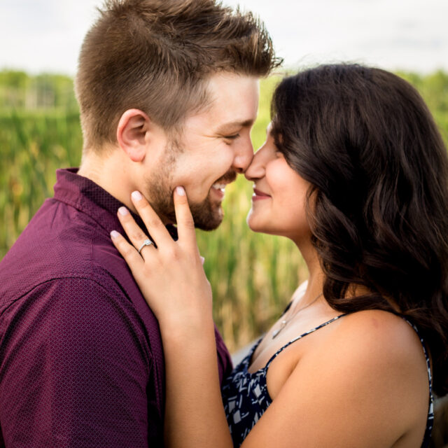 Renee and Ben – Tifft Nature Preserve Engagement Photography