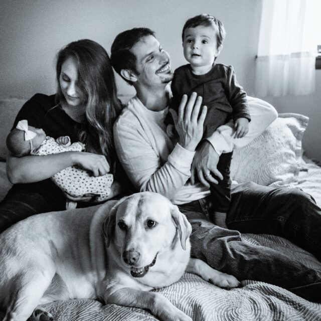 The Wise Family – WNY Lifestyle Newborn Photography, Alexander NY