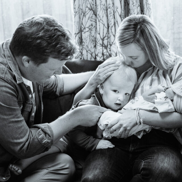 The Beamish Family – Buffalo  At-home Lifestyle Newborn Photos
