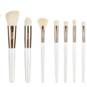 Best makeup brush BeauDay 10pcs makeup brush pearly white brush Professional high quality Synthetic hair Makeup Brushes Kit