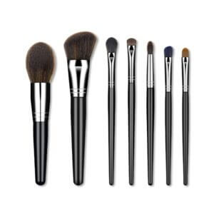 Wholesale 7Pcs Wool brush Makeup Natural Hair brush makeup Powder Foundation makeup Kit for ladies from BeauDay best makeup brush set