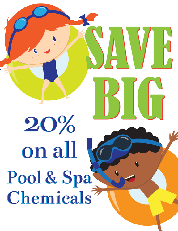 Annual Chemical Sale – May 8th & 9th