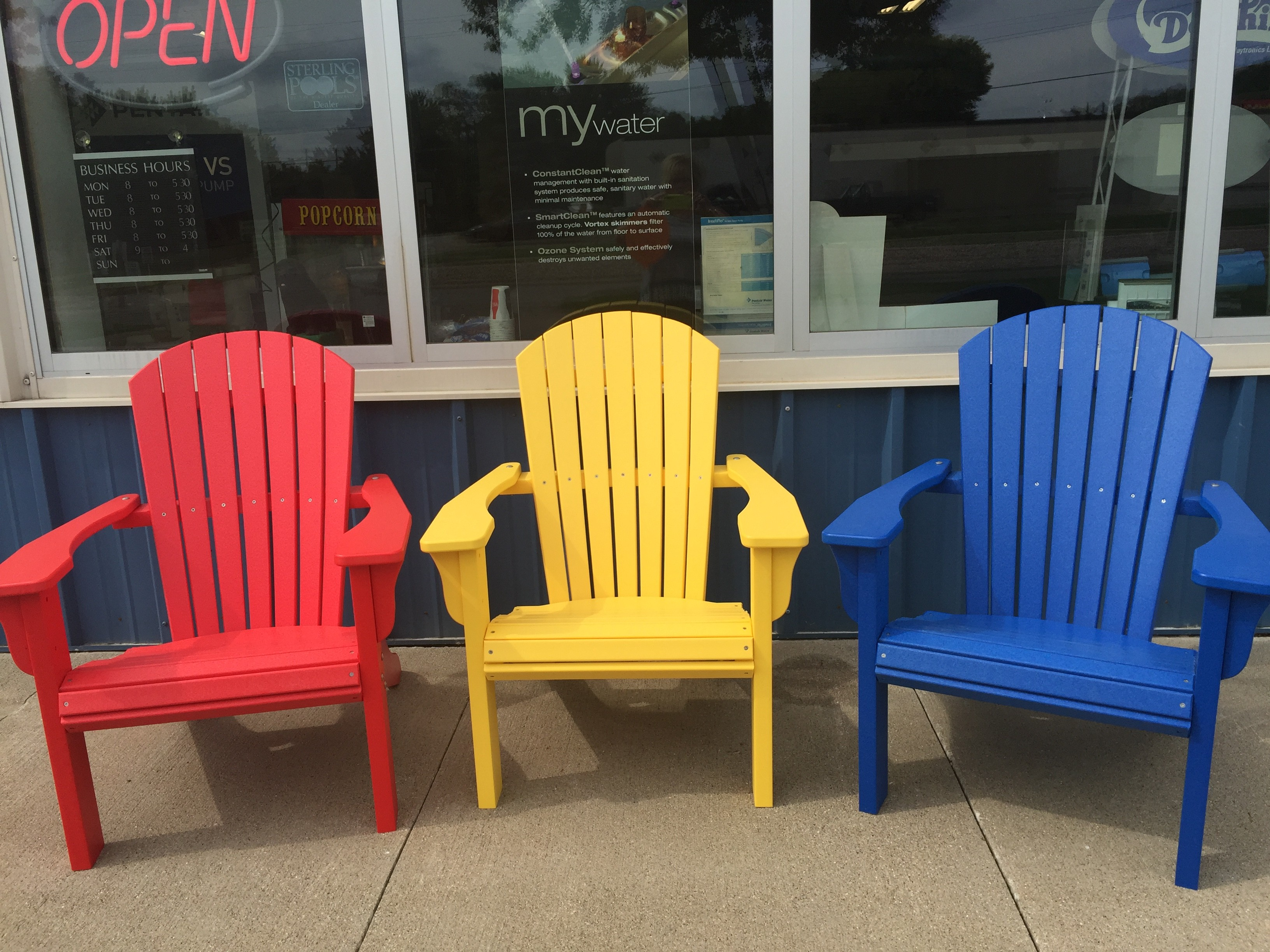 New Adirondack Chairs – $350