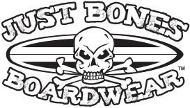 Just Bones Boardwear Logo