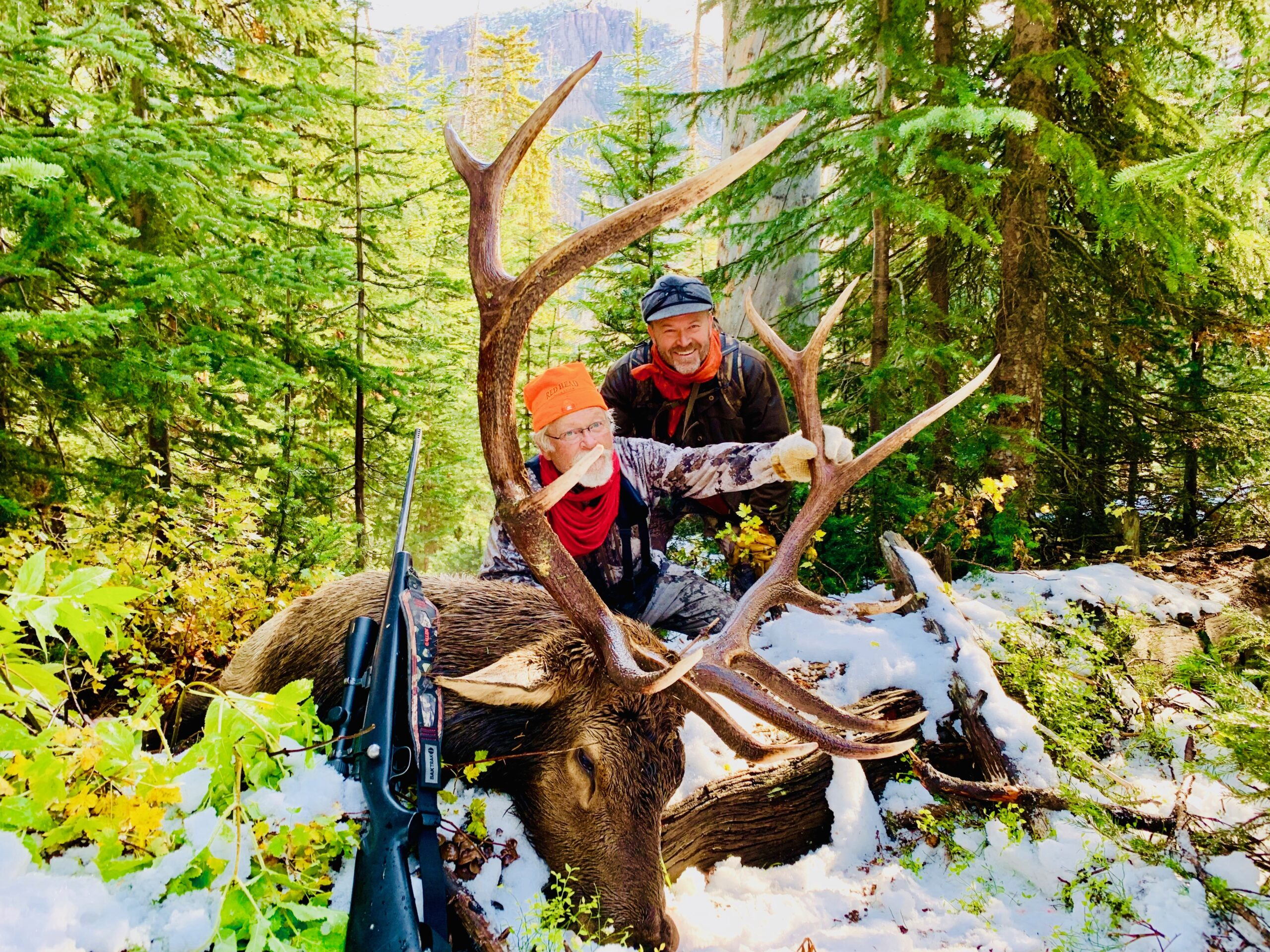 Hunter with Elk 2019
