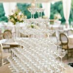 Champagne Coupe Tower Rental