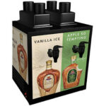 Crown Vanilla and Crown Apple Shot Machine