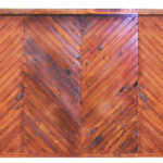6' Stained Herringbone Premium Bar