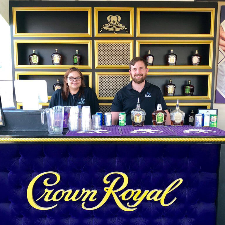 Crown Royal Activation at Rock the South Music Festival