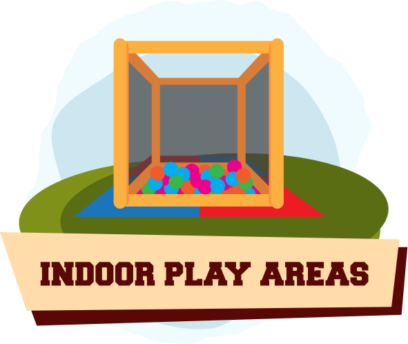 Indoor Play Area Illustration