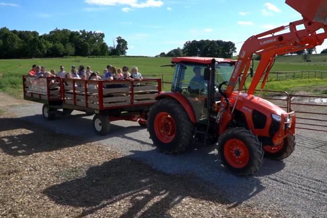 Hayride at Country Roads Family Fun Farm - Stotts City, MO