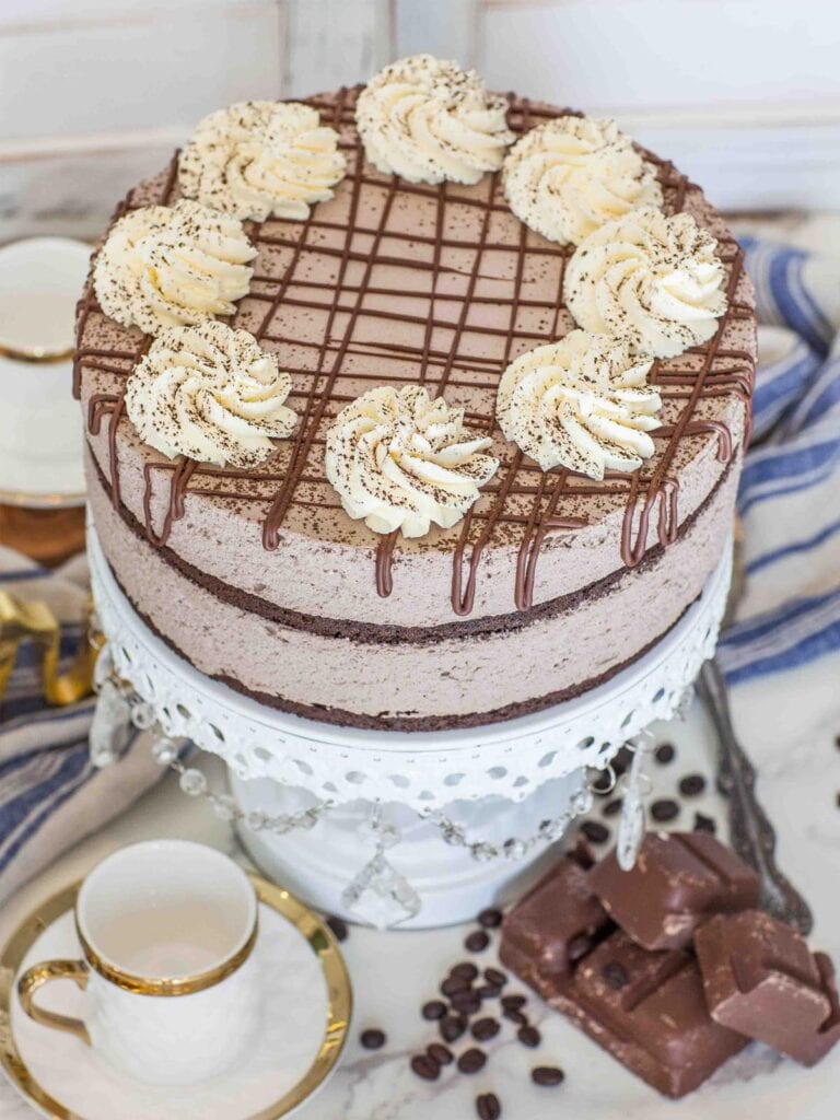 low carb chocolate mousse cake recipe