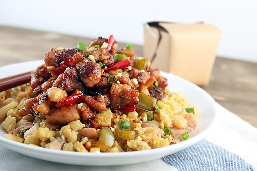 keto meal plan kung pao chicken