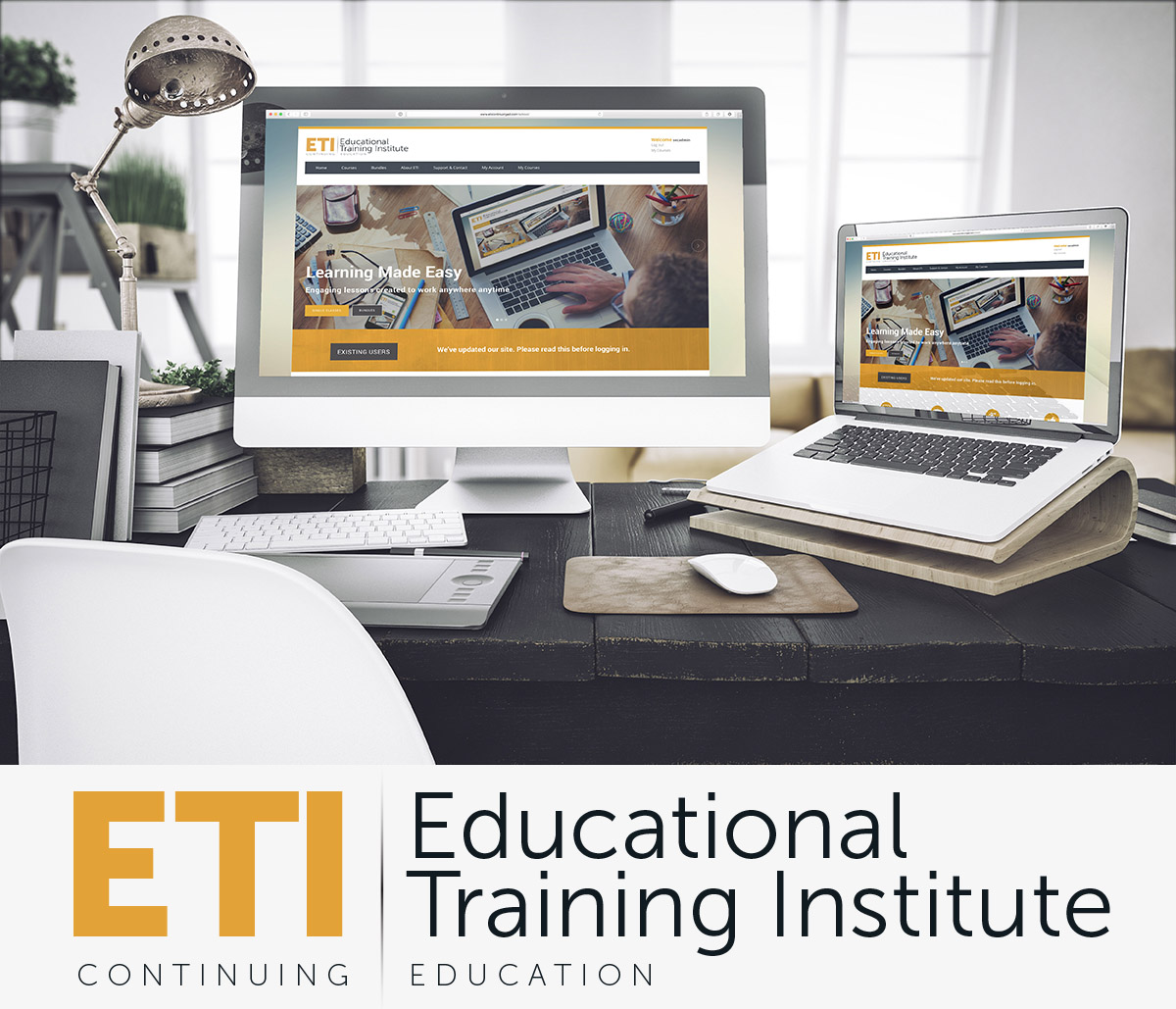 ETI Online Continuing Education for the Fire Safety Industry
